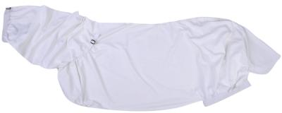 HKM 7032 Ekzemerdecke mit Bauchlatz weiß