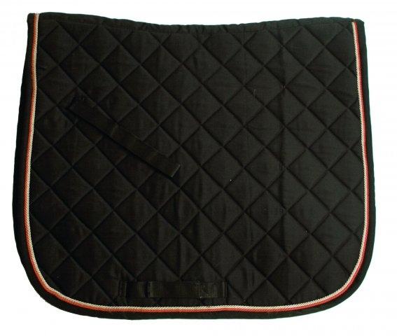 Horseware Rambo Dressurschabracke Grand Prix Show Dressage Pad black