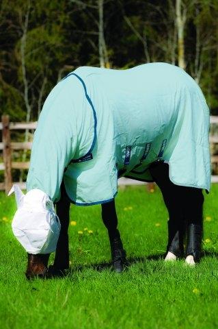 Rambo Sweetitch Hoody Vamoose Ekzemerdecke Pony mit Gesichtsmaske