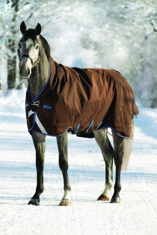 Horseware Rambo WUG medium mit Vari-layer braun