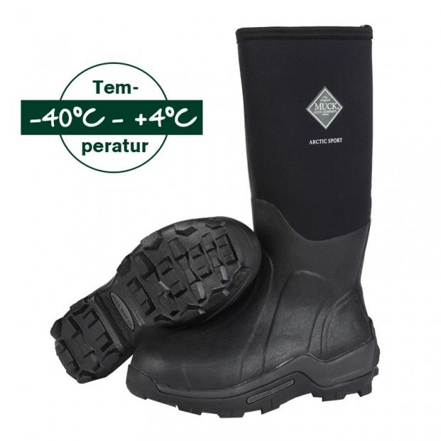 MUCKBOOT® Arctic Sport schwarz Neoprenstiefel