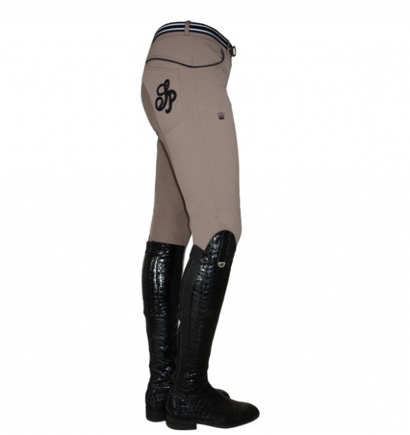 Spooks Riding Reithose Vivia Vollbesatz beige