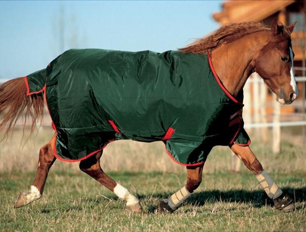 Horseware Rambo The Original heavy green-red