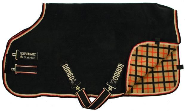 Horseware Rambo Deluxe Fleece black