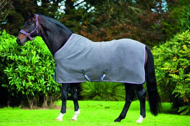 Horseware Rambo Deluxe Fleece charcoal