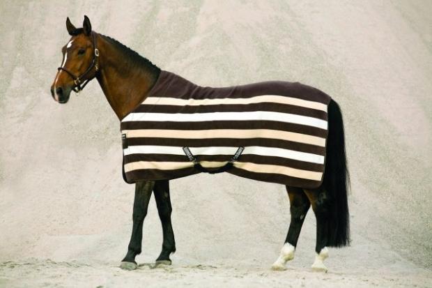 Horseware Rambo Newmarket Fleece Abschwitzdecke chocolate