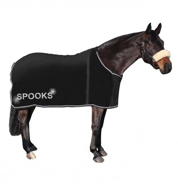 Spooks Riding Abschwitzdecke Blanket sparkling black schwarz