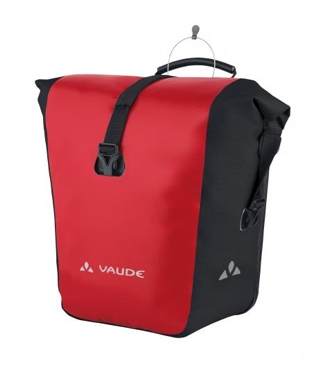 VAUDE Aqua Front wasserdichte Universaltasche rot-schwarz