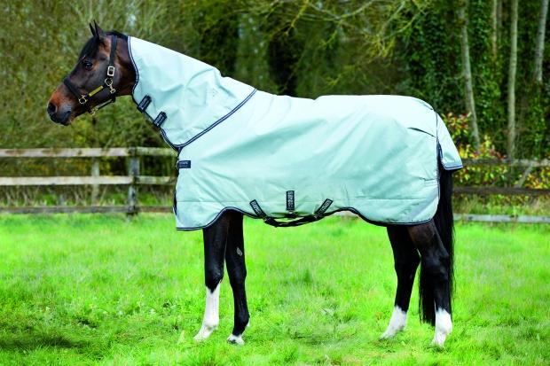 Horseware Rambo Original Halsteil ohne Füllung grey with navy