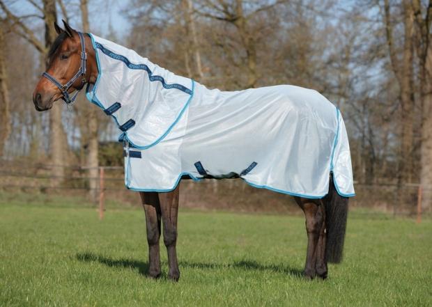Horseware Amigo Bug Rug Fliegendecke azure blue/ elect blue Model 2020