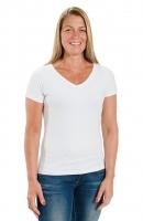 Back on Track T-Shirt Stretch weiß / schwarz
