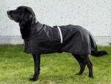 Back on Track Hunde-Regendecke Allwetterdecke mit leichter Füllung 55-74 cm