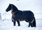 Horseware Rambo Supreme heavy Weidedecke schwarz/ gold