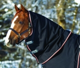 Horseware Rambo Optimo Halsteil mit 150 g Füllung black orange