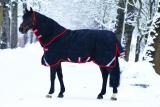 Horseware Rambo Supreme heavy Vari-Layer  Winterdecke mit Halsteil schwarz