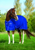 Horseware Amigo Turnout Hero 6 lite Atlantic Blue Weidedecke