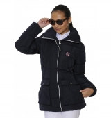 Spooks Riding Jacke Mia Side Pocket navy