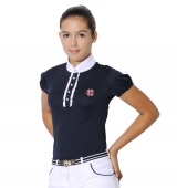 Spooks Riding Turniershirt Camilla Elegance navy