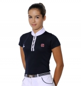 Spooks Riding Turniershirt Camilla Sport navy