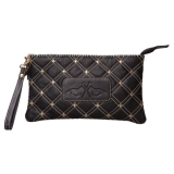 HV Polo Clutch Studs black