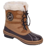 HV Polo Winterstiefel/ Winterschuhe Beige-Dark Brown