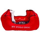 HV Polo Hundebett Mendoza Scarlet, Größe S