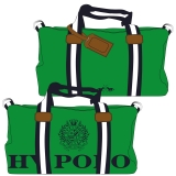 Hv Polo Handtasche Canvas Sportsbag Gias apple-navy