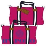 Hv Polo Handtasche Canvas Sportsbag Gias pink-cobalt