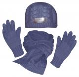 HV Polo Winter-Set Mütze, Schal, Handschuhe navy