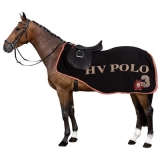 HV Polo Fleece Nierendecke Exercise Rug Favouritas Black