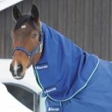 Bucas Smartex Turnout Rain Combi Neck Halsteil schwarz, blau, chocolate