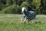 Bucas Buzz OFF Fliegendecke Full Neck Zebra Pony
