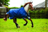 Horseware Rambo Original lite 100 g mit Beinausschnitt denim blue
