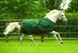 Horseware Rambo The Original lite gree-red