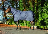 Horseware Rhino Plus heavy Winterdecke mit Halsteil charcoal