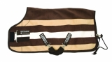 Horseware Rambo Deluxe Fleece witney stripe chocolate