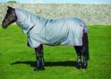 Horseware Amigo Hero 6 All-in-One medium mit integriertem Halsteil grey