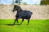 Horseware Amigo Turnout Hero 6 medium black purple