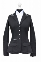 Spooks Riding Showjacket Stripes schwarz