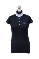 Spooks Riding Showshirt Kimi sequin navy blau