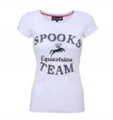 Spooks Riding Shirt Matilda weiß