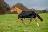 Bucas Irish Western Turnout Extra 300g 1200D Weidedecke Regendecke schwarz
