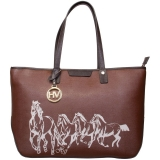 HV Polo Shoulderbag Cavalli cognac braun