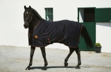 Horseware Rambo Ionic Fleece Abschwitzdecke Black/Orange