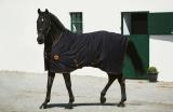 Horseware Rambo Ionic Fleece Abschwitzdecke Black/Orange