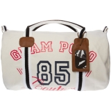 HV Polo Canvas Bag Lou Crown ecru