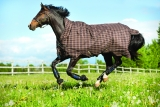 Horseware Rhino Wug Lite Regendecke Chocolate + Magic Brush