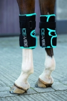 NEU !!! Horseware Ice-Vibe Knee Wrap Karpalgelenk black/aqua