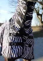 Hafer24 - unsere Meistverkaufte - Ekzemerdecke Fliegendecke Zebra Comfort