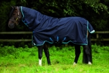 Horseware Amigo Bravo 12 All-In-One lite 0g mit Halsteil navy